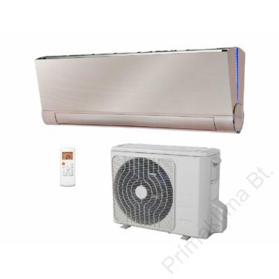 FISHER FSAIF-Art-120AE2-G (kültéri + beltéri egység) Oldalfali split klíma (GOLDEN) 3,5 kW,Hősz,  Inverter, R410A, WIFI csatlakozási opció
