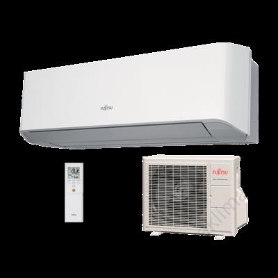 FUJITSU ASYG07LMCE/AOYG07LMCE (kültéri + beltéri egység) oldalfali split klíma 2 kW Hősziv, Inverter, R410A