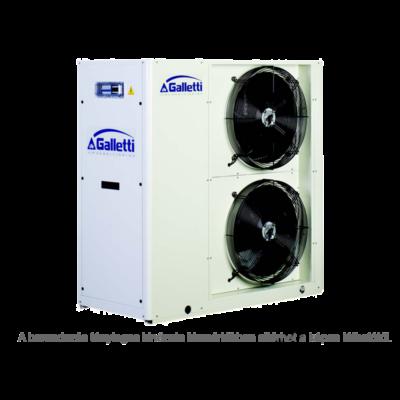 GALLETTI MPE 027 C0 (01S0C00000001) pump, tank, cond.contr. folyadékhűtő (hidroblokkal, vent. ford. szab.) 26,6 kW,R 410A, 3 fázis