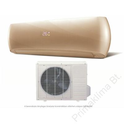 HD  HDWI-DSGN-120C-GOLD/HDOI-DSGN-120C (beltéri +kültéri egység) Oldalfali split klíma (DESIGN-GOLD) 3,5 kW, Hősziv,Inverteres, R410A