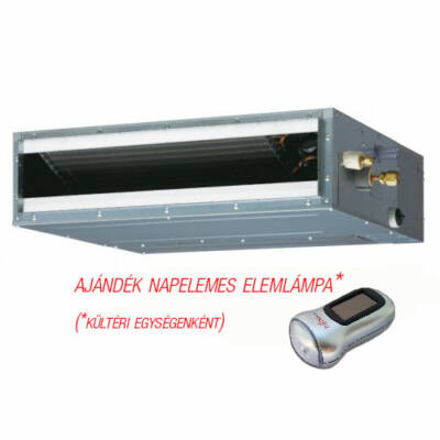 FUJITSU ARYG12LLTB/AOYG12LALL (kültéri + beltéri egység) Légcsatornás split klíma 3,5 kW, Inv. Hősziv, R410A