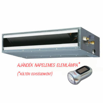 FUJITSU ARYG18LLTB/AOYG18LALL (kültéri+beltéri egység)  Légcsatornás split klíma 5,2 kW, Hősziv, invert, R410A