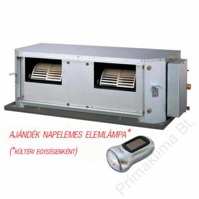 FUJITSU ARYG 45 LHTA / AOYG 45 LETL (kültéri + beltéri egység) Légcsatornás split klíma (magas nyomású) 12,5 kW,  inverter, hősziv, R410 A