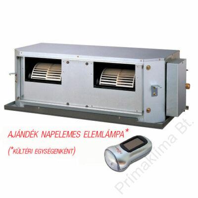 FUJITSU ARYG54LHTA/AOYG54LATT (kültéri + beltéri egység) Légcsatornás split klíma (magas nyomású) 14 kW, inverter hősziv, R410 A, 3fázis 400V