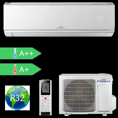 FISHER FSAI-CP-180BE3  (kültéri + beltéri egység) Oldalfali split klíma 5,2 kW,Hősz, Inverter , R32, WIFI