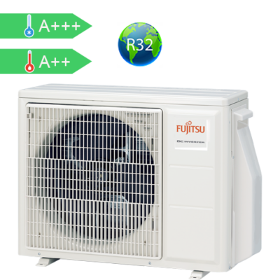 FUJITSU AOYG18KBTA2 (kültéri egység) Multi split klíma kültéri egys 5,0 kW, R32 Invert, hősziv