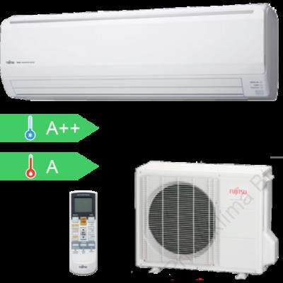FUJITSU ASYG24LFCC/AOYG24LFCC (kültéri + beltéri egység) Oldalfali split klíma 7,1 kW, Hősziv.Inverter,R410A