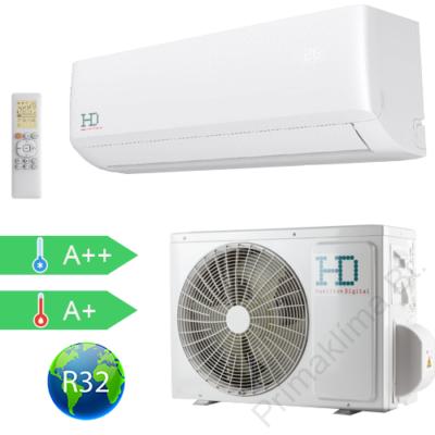 HD  HDWI-MAXIMUS-127A / HDOI-MAXIMUS-127A (beltéri +kültéri egység) Oldalfali split klíma (MAXIMUS) 3,5 kW, Hősziv,Inverteres, R32, WIFI csatlakozással