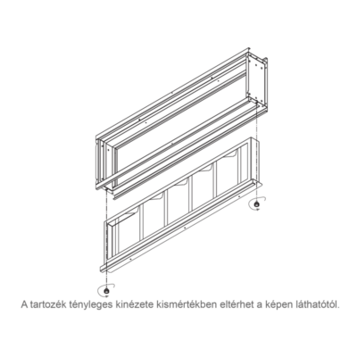 GALLETTI  MAF 22  levegő szűrő (EU2) UTN 22-höz