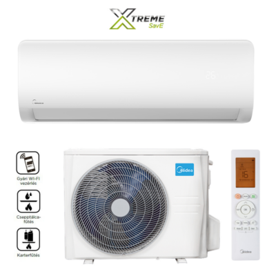 Midea Xtreme Save MG2X-12-SP  Full DC Inverter lakossági mono split klíma, Wifi vezérléssel