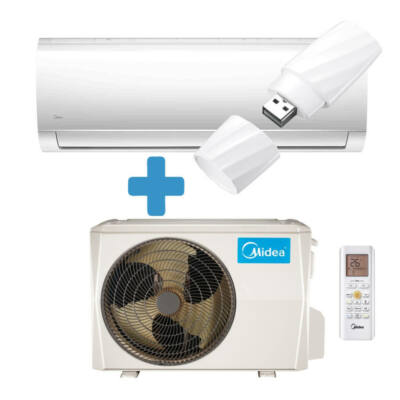MIDEA MA18 N8D0 Blanc DC inverteres klíma hőszivattyús  R32